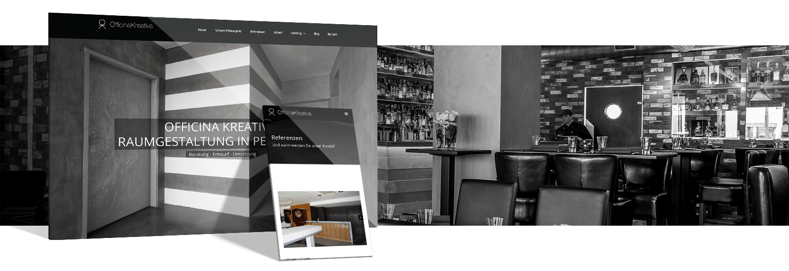 webdesign.koeln Referenz - Officina Kreativa