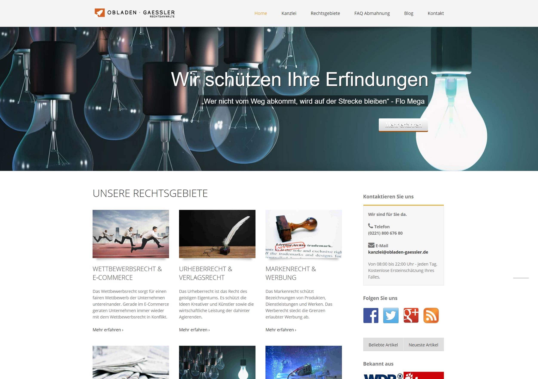 Webseite Referenz 1 - Nachher