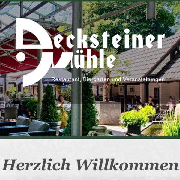 Restaurant – Decksteiner Mühle