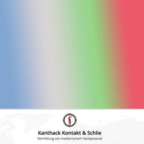 Ärztevermittlung Kanthack, Kontakt und Schlie