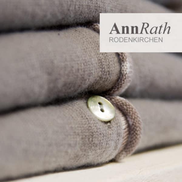 Webdesign für das Modegeschäft Annrath in Rodenkrichen