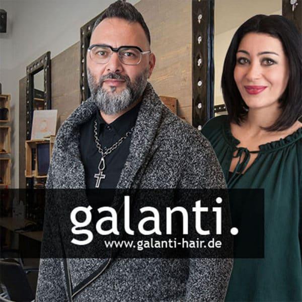 Webdesign für Galanti Hair