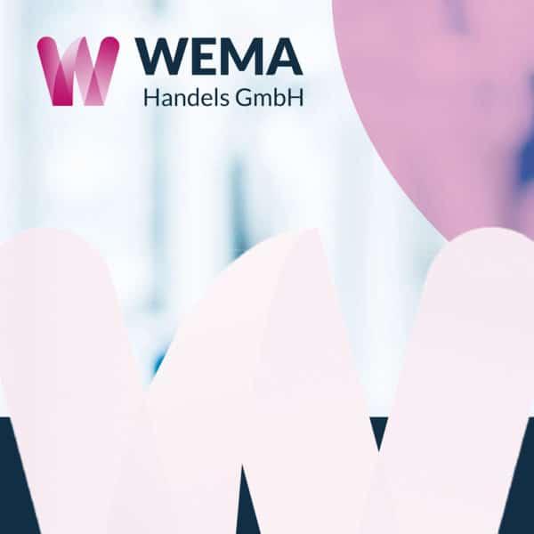 Webdesign für die Wema Handels GmbH