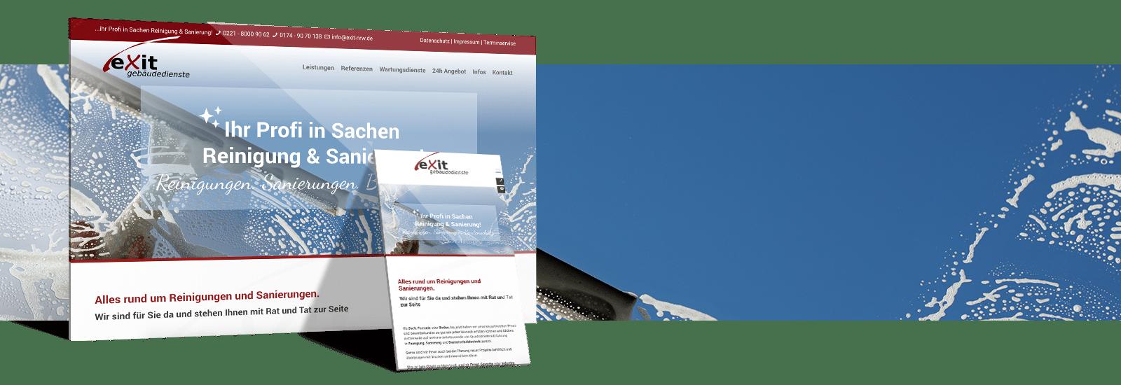 Gebäudereinigung Website