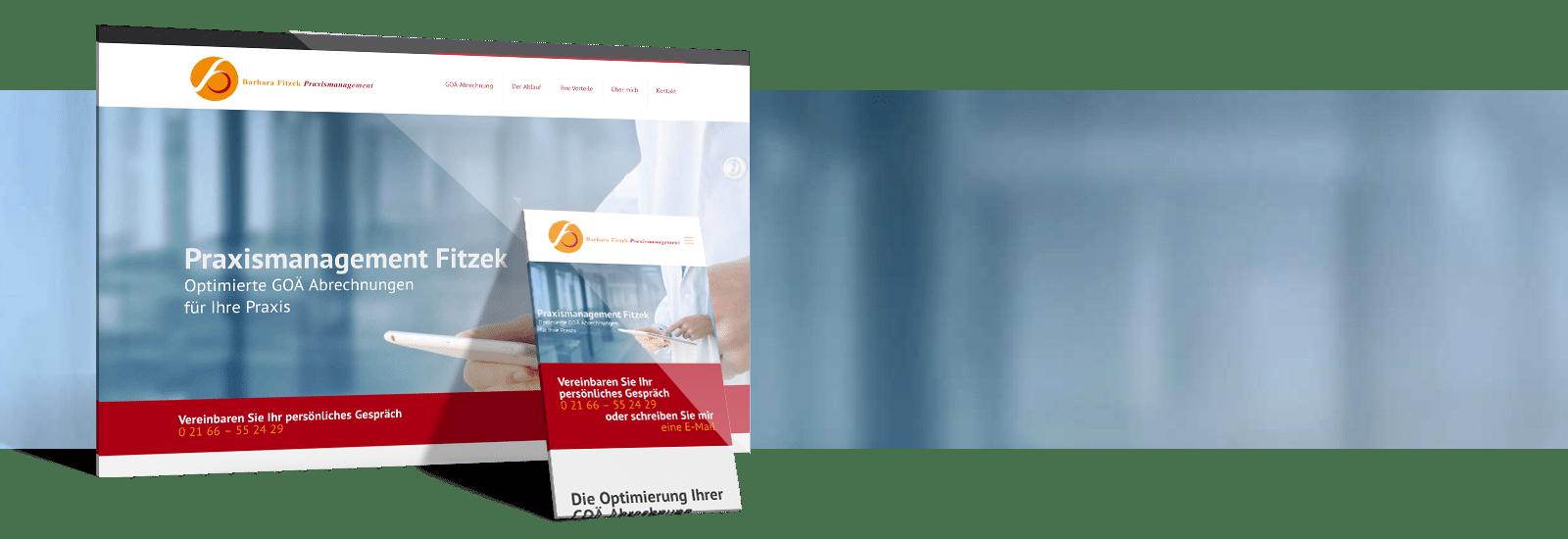 Onepager Website Referenz von webdesign.koeln
