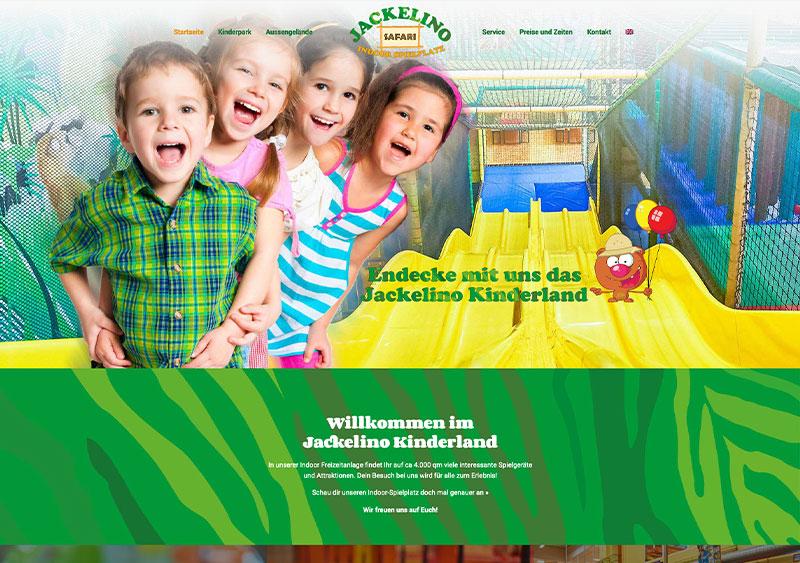 Jackelino - Vorher- Webseite Referenz - Webdesign Koeln
